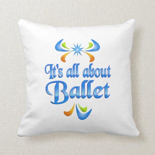 Sobre ballet cojin