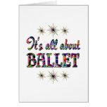Sobre ballet felicitación