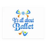 Sobre ballet postal