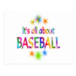 Sobre béisbol tarjetas postales