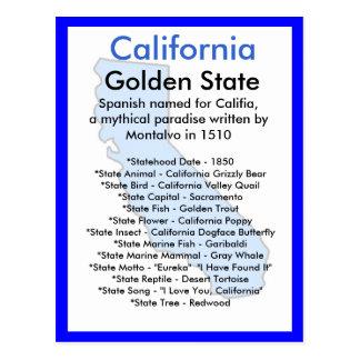 Sobre California Tarjetas Postales