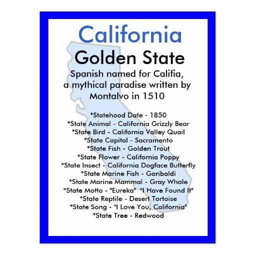 Sobre California Postal