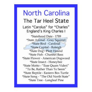 Sobre Carolina del Norte Tarjetas Postales