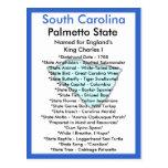 Sobre Carolina del Sur Postal