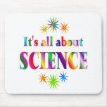 Sobre ciencia alfombrillas de ratones