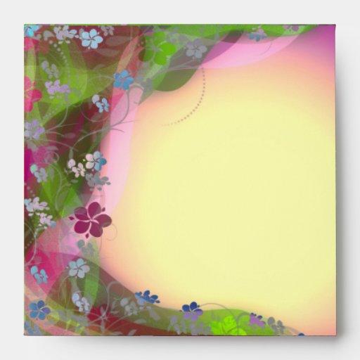 Sobre colorido lindo de las enredaderas de la flor