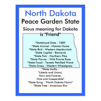 Sobre Dakota del Norte Postal