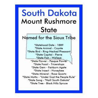 Sobre Dakota del Sur Postal