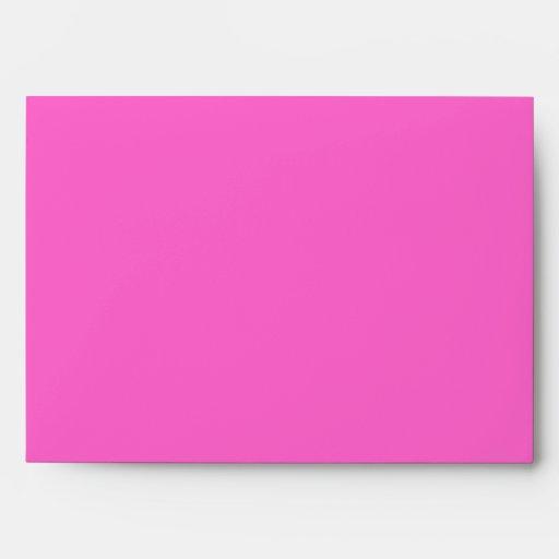 Sobre de encargo rosado y negro