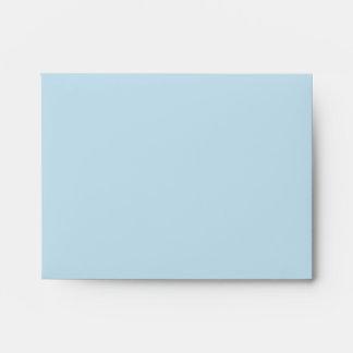Sobre de la tarjeta de nota del modelo de William