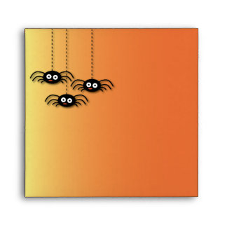 Sobre de las arañas de Halloween