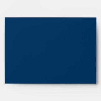 Sobre de los azules marinos 5x7