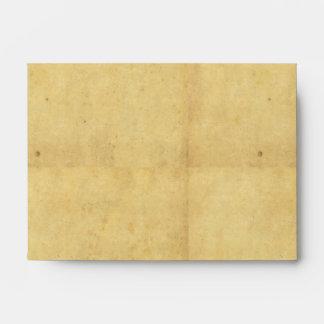 Sobre de papel del pergamino A6-