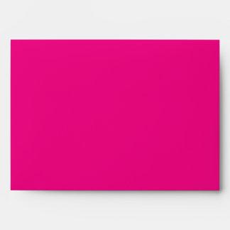 Sobre de uso múltiple negro, blanco, y rosado