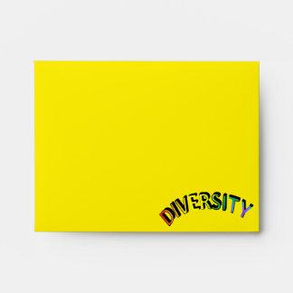 Sobre del arco iris de la diversidad