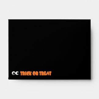 Sobre del collage A6 de Halloween