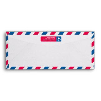 Sobre del correo aéreo #10
