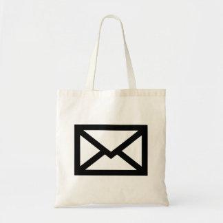 Sobre del correo bolsa tela barata