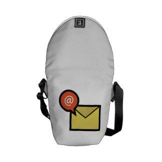 Sobre del correo electrónico bolsas de mensajeria