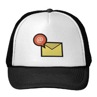 Sobre del correo electrónico gorro de camionero