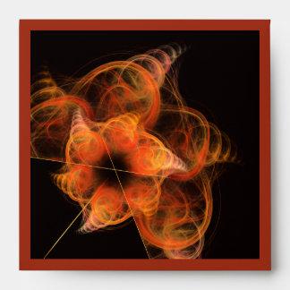 Sobre del cuadrado del arte abstracto de Lightwork
