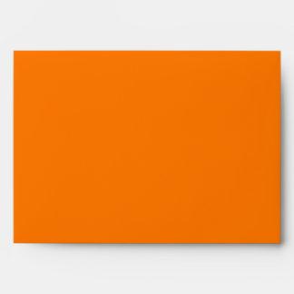 sobre del naranja 5x7