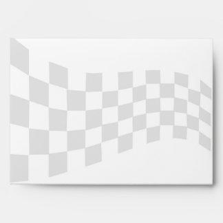 Sobre del personalizado de la bandera del coche de