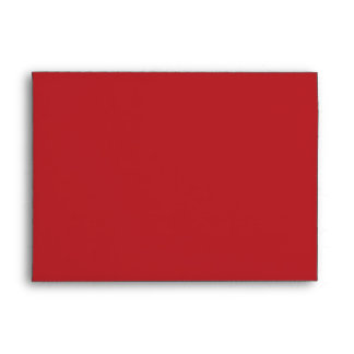 sobre del rojo 5x7