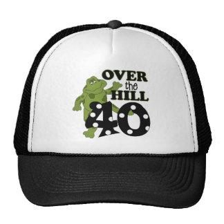 Sobre el 40.o cumpleaños de la colina gorras de camionero