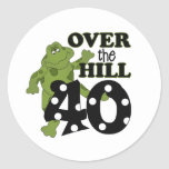 Sobre el 40.o cumpleaños de la colina pegatinas