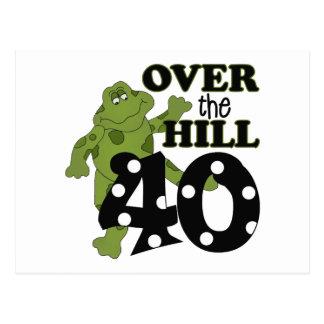Sobre el 40.o cumpleaños de la colina postales