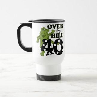 Sobre el 40.o cumpleaños de la colina taza de viaje de acero inoxidable