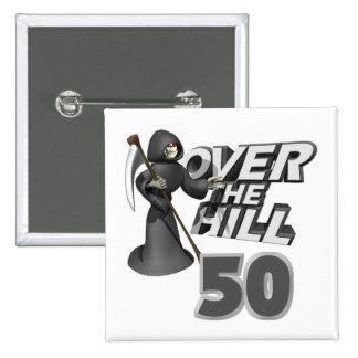 Sobre el 50.o regalo de cumpleaños de la colina pin