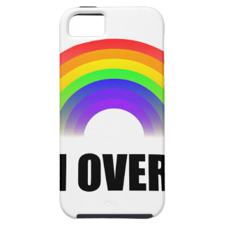 Sobre él arco iris funda para iPhone SE/5/5s