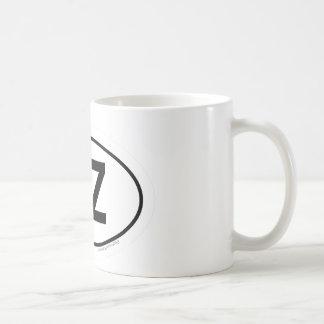 Sobre el arco iris tazas de café