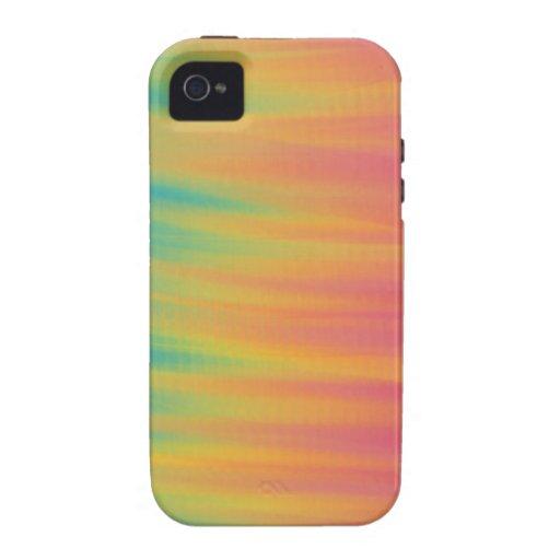 Sobre el arco iris vibe iPhone 4 carcasas