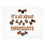 Sobre el chocolate anuncios personalizados