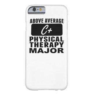 Sobre el comandante medio de la terapia física funda de iPhone 6 barely there