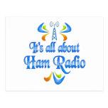 Sobre el equipo de radio-aficionado postal