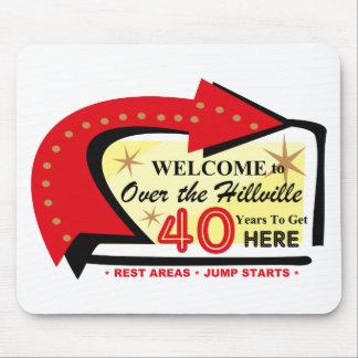 Sobre el Hillville 40 Mousepad Tapete De Ratón