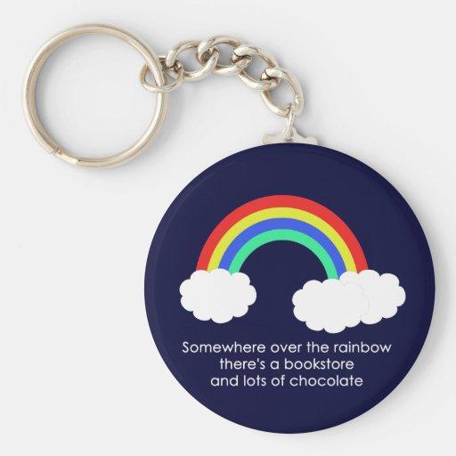 Sobre el llavero del arco iris (oscuro)