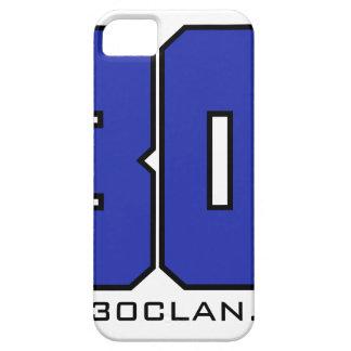 Sobre el logotipo de 30 clanes (azul de iPhone 5 carcasa