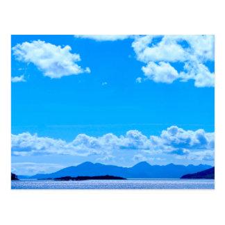 Sobre el mar a la postal de Skye
