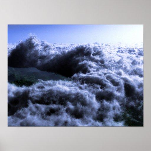 Sobre el mar de nubes cambie completo impresiones