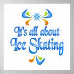 Sobre el patinaje de hielo impresiones