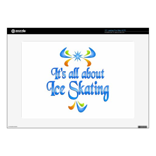 Sobre el patinaje de hielo portátil 38,1cm skins