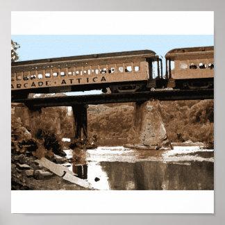Sobre el poster/la impresión del puente póster