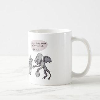Sobre el té cómico taza