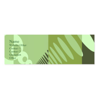 Sobre el terreno plantilla de tarjeta personal