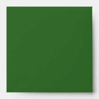 Sobre elegante del verde del diamante del oro verd